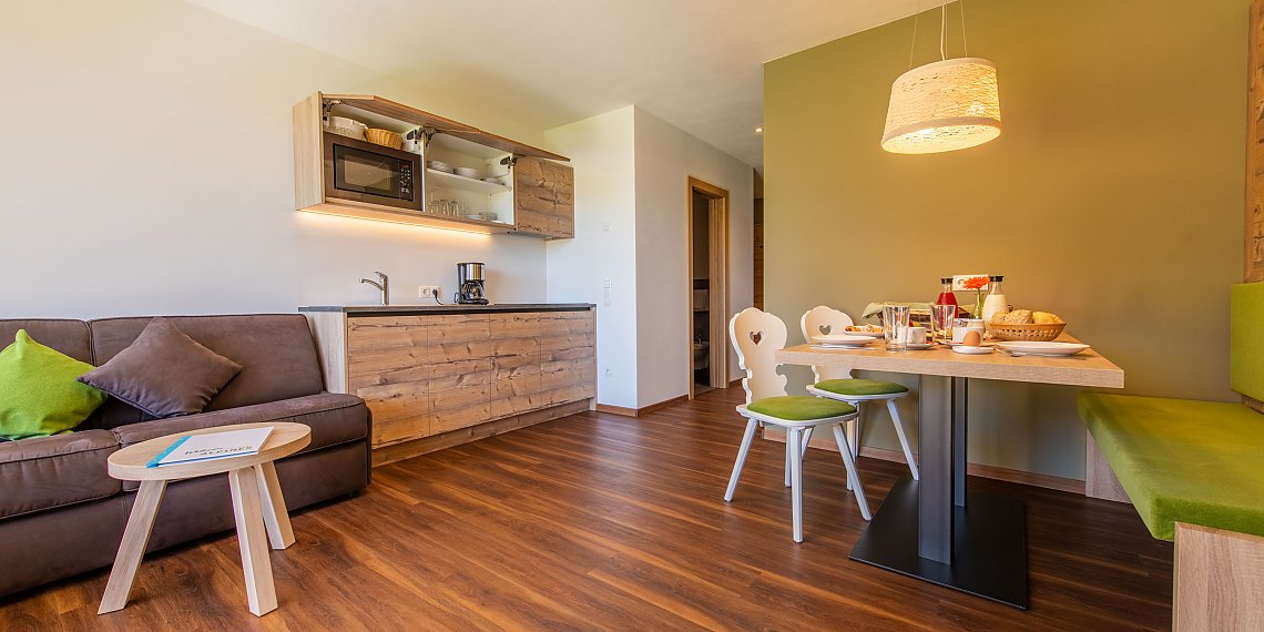 Garden apartment for 4-6 person - Apartment at Resia Pass