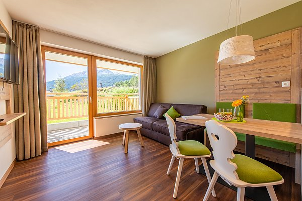 Garden apartment for 2-4 person - Apartment at Resia Pass